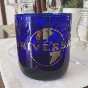 Cobalt Blue universal cocktail glass